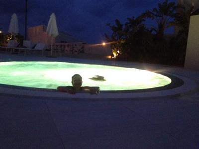 aftenbadning